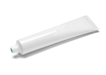 toothpaste white tube hygiene health care