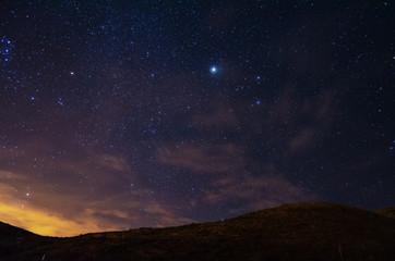 Estrellas y Montañas