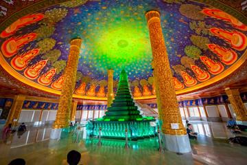 Wat Paknam Bhasicharoen Temple in Bangkok, Thailand