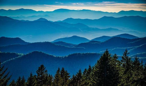 Light on the Ridges
