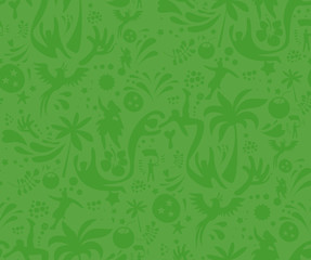 Seamless sports green pattern, abstract football vector background. Seamless Pattern included in swatch