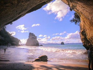Poster Cathedral Cove Cove