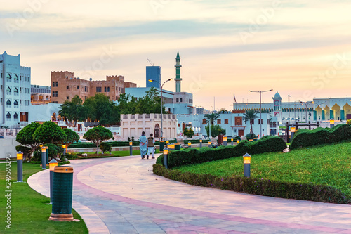 Park near Souq Waqif  Doha, Qatar