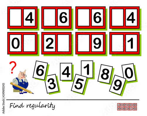 photo regarding Visual Brain Teasers Printable known as Logic puzzle activity for youngsters and grown ups. Want in direction of locate