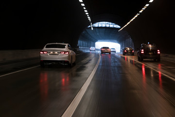 drive in tunnel