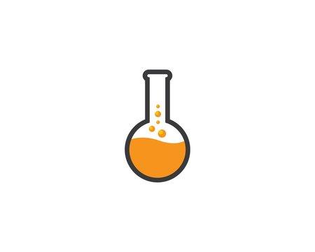 Laboratory symbol illustration