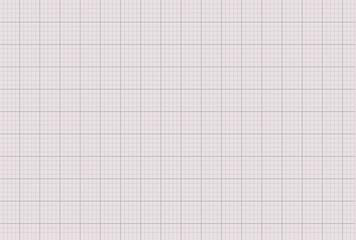 Graph paper millimeter template marking grid. Vector illustration.
