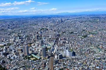 浦和駅周辺/航空写真、空撮