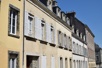 architecture of Cherbourg, France