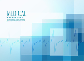 blue healthcare medical banner background