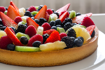 fruit tart - crostata di frutta