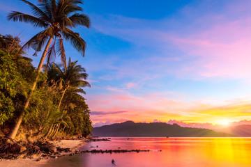 Natural Beaches along the Port Barton Bay, Palawan