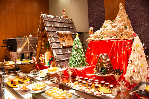 Phenomenal Sweet Dessert Snack And Cakes Line In Food Buffet Service Download Free Architecture Designs Grimeyleaguecom
