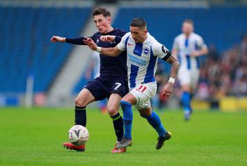 FA Cup Fifth Round - Brighton & Hove Albion v Derby County