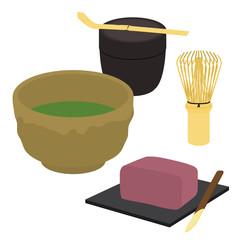 茶道のイラスト