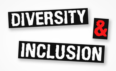 Diversity and Inclusion - business concept