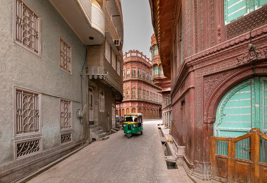 Old street in Bikaner Rajasthan India