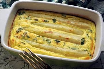Asparagus officinalis Asparagi bianchi al forno ft8106_8998