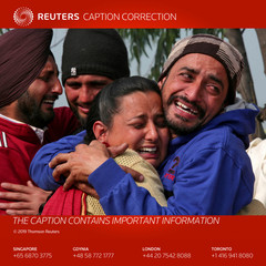 ATTENTION EDITORS - CAPTION CORRECTION FOR FFF-DEL08-09