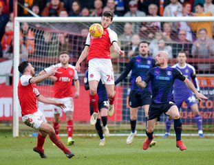 League One - Fleetwood Town v Luton Town
