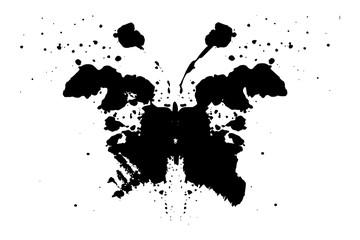 Photo sur Toile Papillons dans Grunge Print