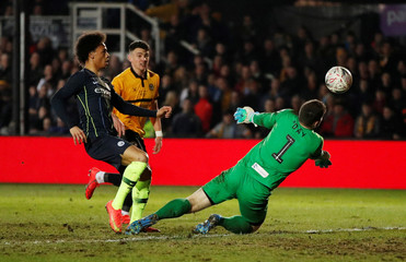 FA Cup Fifth Round - Newport County AFC v Manchester City