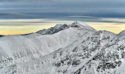 Low Tatras, Slovakia, winter