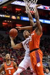 NCAA Basketball: Clemson at Louisville