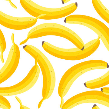 Vector banana pattern