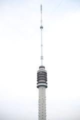 Antenna broadcast tower named Gerbrandytoren or Lopik in IJsselstein close to Utrecht in the Netherlands