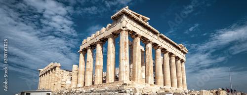 Fototapete Parthenon on the Acropolis, Athens, Greece