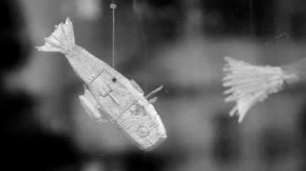 Fliegender Fisch als Deko