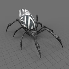 Ancient spider statue