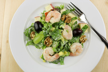 Shrimp Waldorf Salad