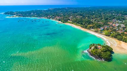 Aerial. Weligama, Sri Lanka.