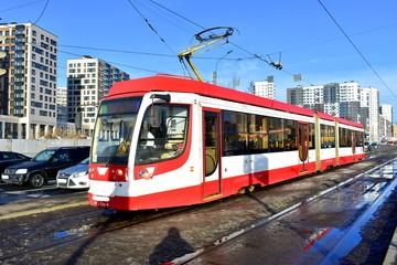 New municipal tram