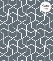 Pattern with thin lines, hexagon and geometric shapes. Stylish fractal texture. Abstract arabic background. pattern clean for fabric, wallpaper, printing. pattern is on swatches panel