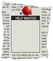 Classifieds help wanted