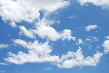 Blue sky with clouds background, sky with clouds, Cloud Background