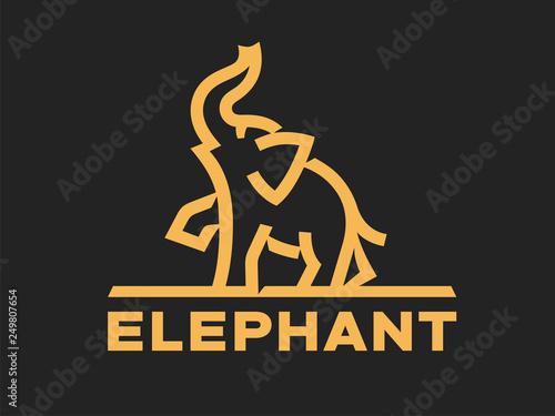 028a86485 Elephant logo template