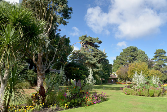 Lower gardens, Bournemouth, Dorset