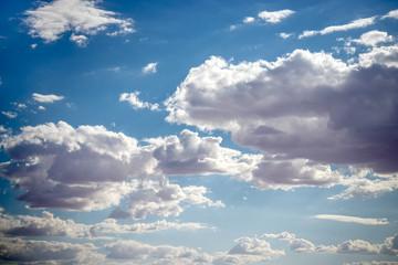 Fototapeta Blue and white sky replacement obraz