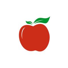 Apple logo design vector template