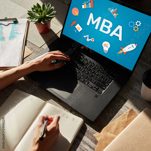MBA Master Business Administration Education Learning Study