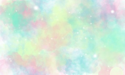 Star and galaxy, space background - Illustration