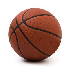 basketball ball over white
