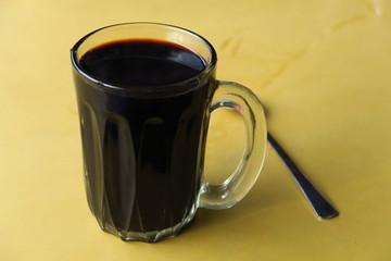Café noir black coffee