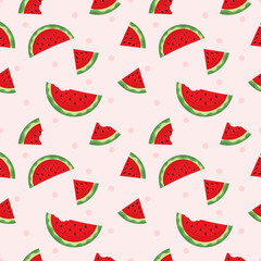 Seamless pattern watermelon