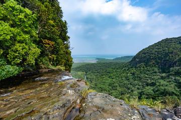 西表島・ピナイサーラの滝上からの風景