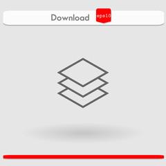 layers vector icon